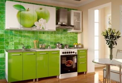 """Кухня """"Яблоки мечты"""""""